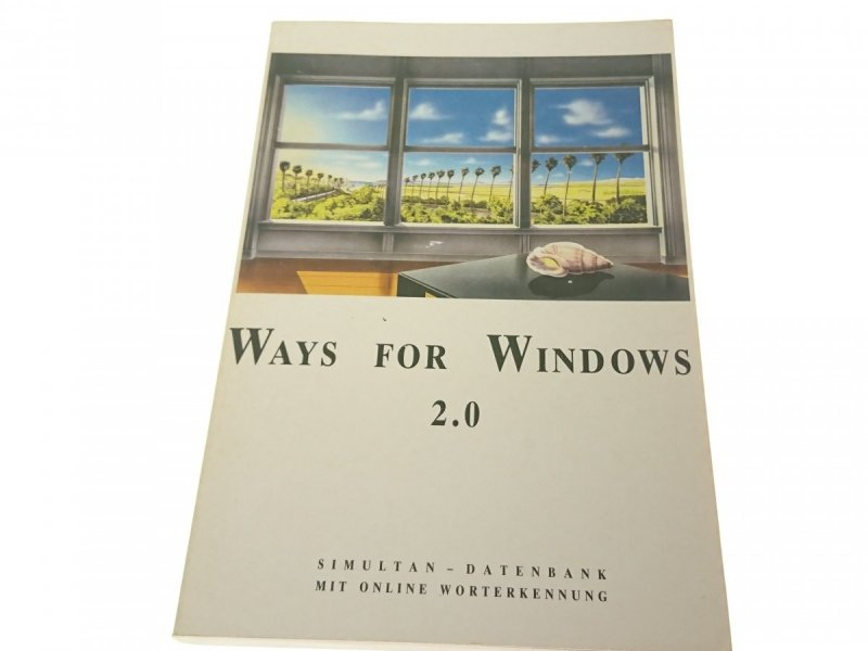 WAYS FOR WINDOWS 2.0 WAYS OFFNET WEGE