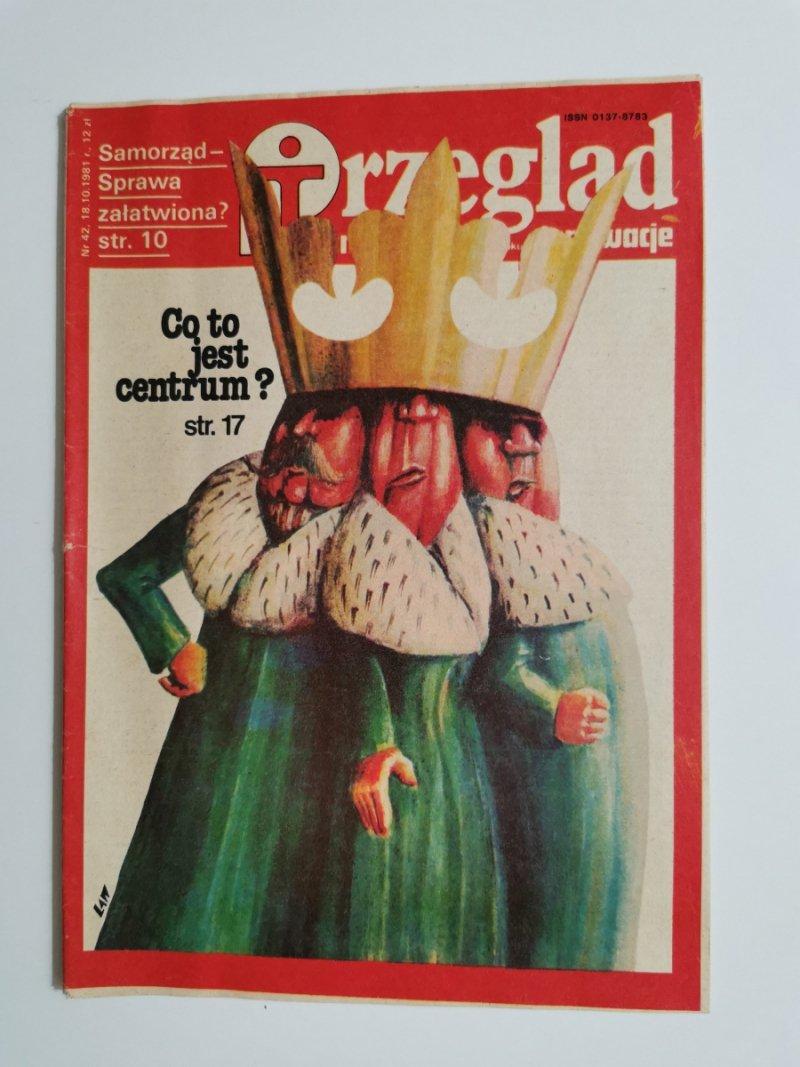 PRZEGLĄD TECHNICZNY INNOWACJE NR 42 18.10.1981