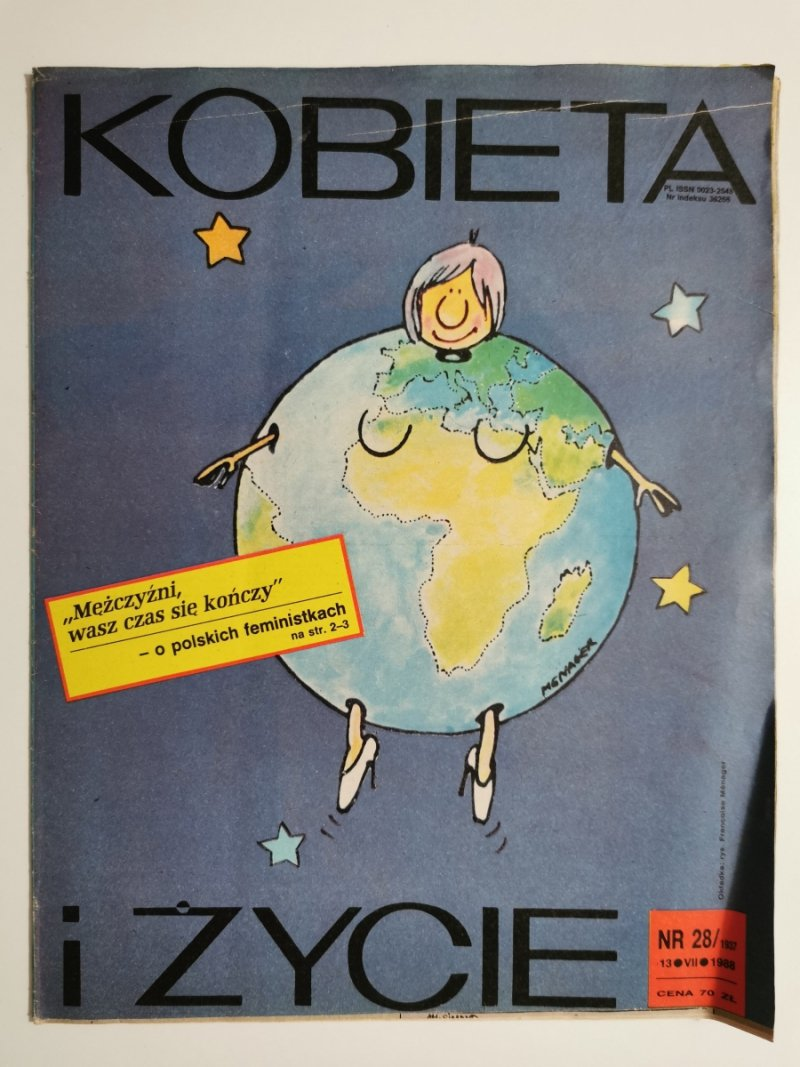 KOBIETA I ŻYCIE NR 28/1937 13 VII 1988