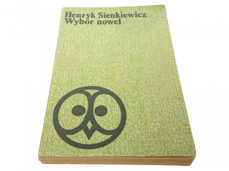 WYBÓR NOWEL - HENRYK SIENKIEWICZ (1977)