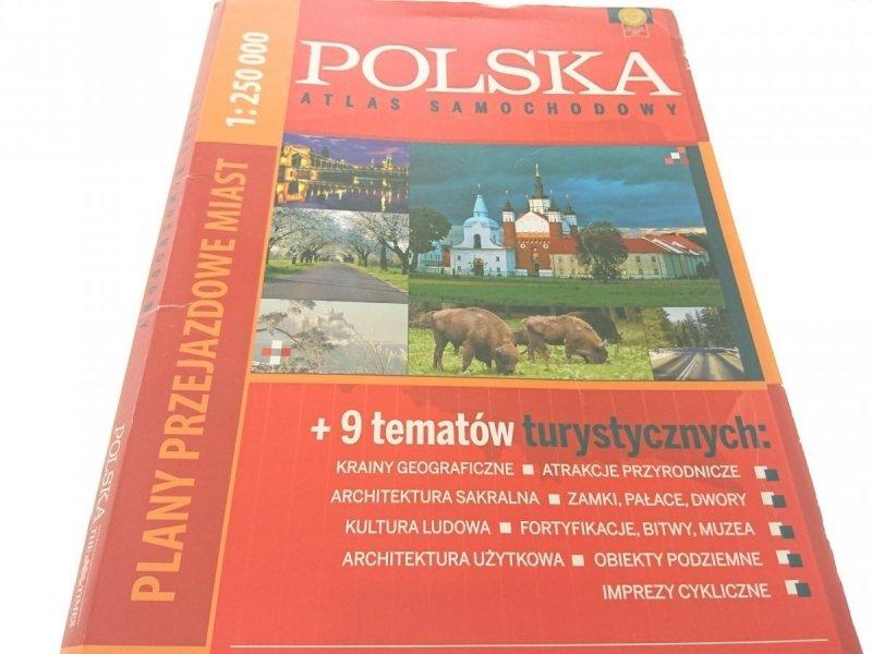 POLSKA. ATLAS SAMOCHODOWY + 9 TEMATÓW
