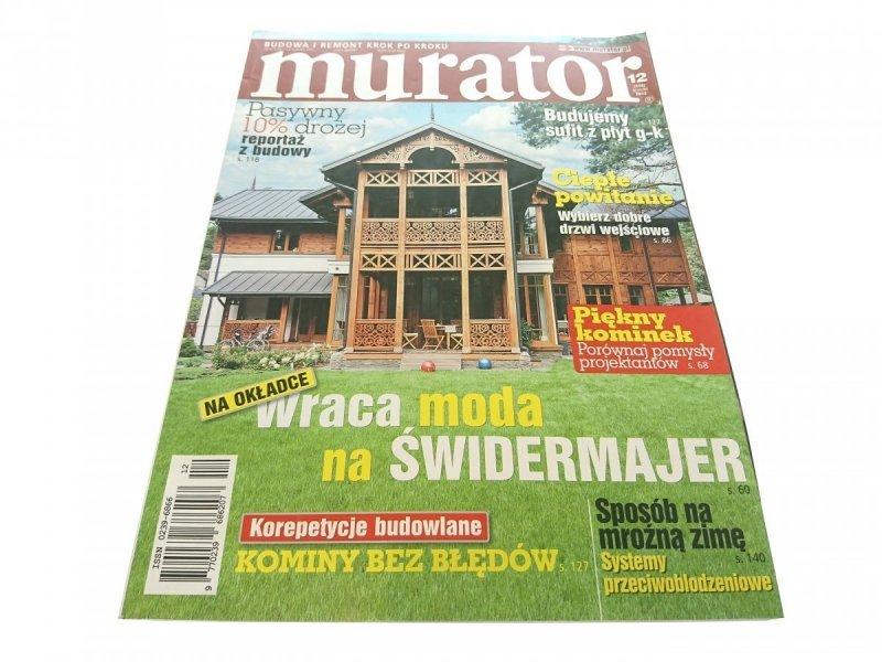 MURATOR 12 (344) GRUDZIEŃ 2012