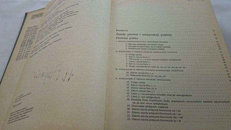 SŁOWNIK ORTOGRAFICZNY JĘZYKA POLSKIEGO - Szymczak