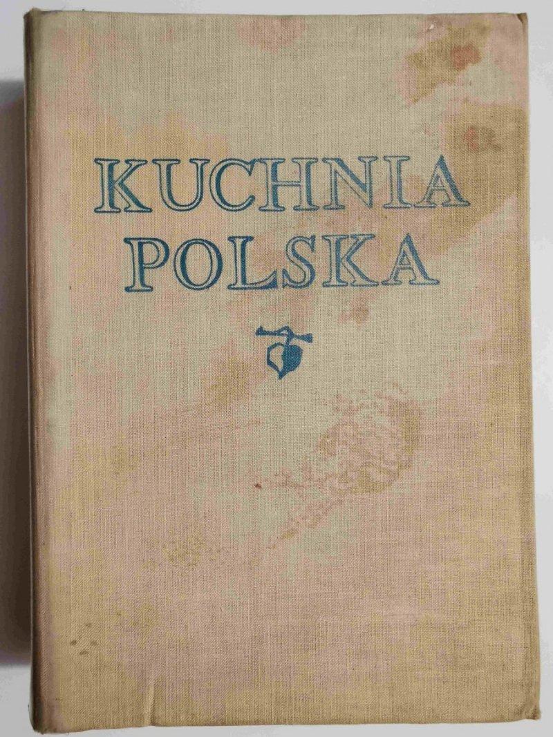 KUCHNIA POLSKA - red. Dr. Stanisław Berger 1962