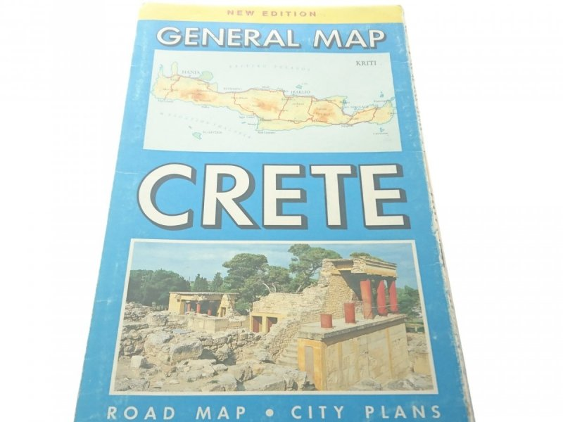 CRETE. GENERAL MAP