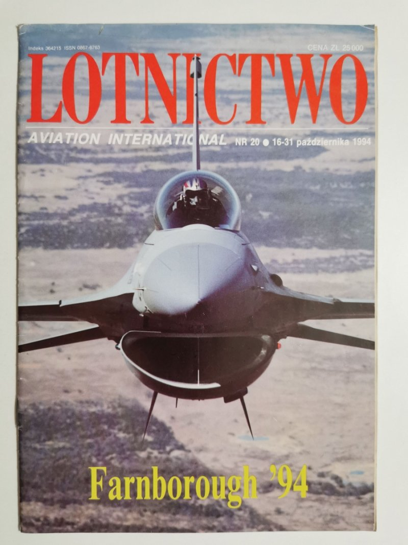 LOTNICTWO NR 20 1994