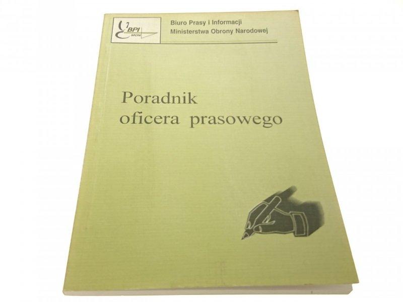 PORADNIK OFICERA PRASOWEGO (1996)