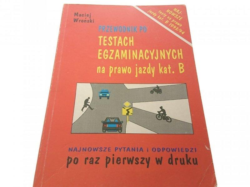 PRZEWODNIK PO TESTACH EGZAMINACYJNYCH... 1993
