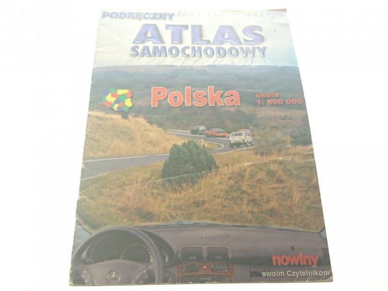PODRĘCZNY ATLAS SAMOCHODY. POLSKA 1: 800 000
