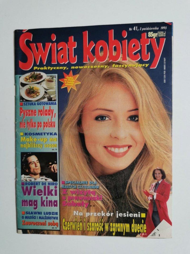 ŚWIAT KOBIETY NR 41, 3 PAŹDZIERNIKA 1995