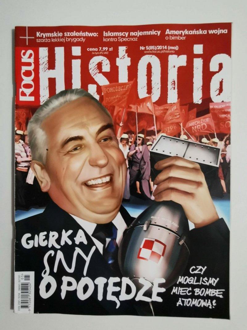 FOCUS HISTORIA NR 5 (85)/2014 MAJ