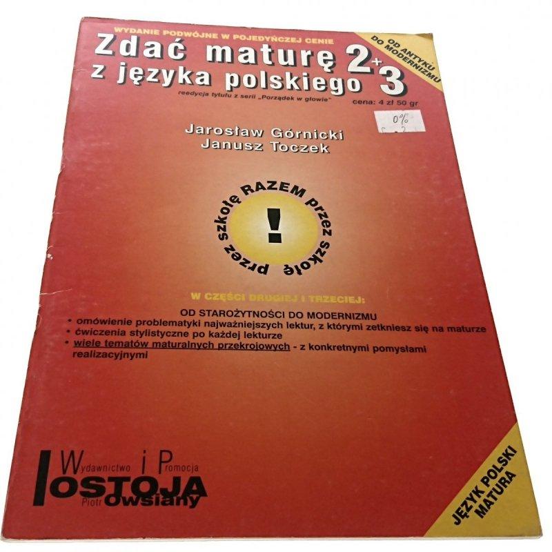 ZDAĆ MATURĘ Z JĘZYKA POLSKIEGO - Górnicki (2002)