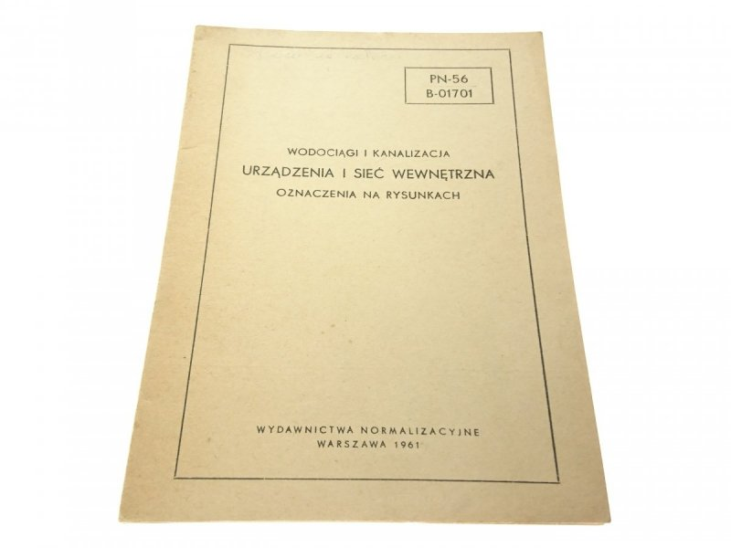 WODOCIĄGI I KANALIZACJA. URZĄDZENIA I SIEĆ..(1961)