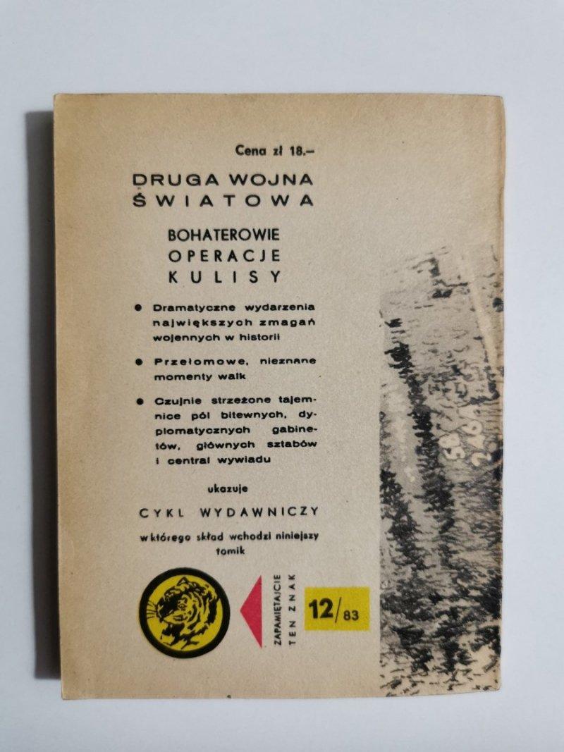 ŻÓŁTY TYGRYS: PRZED ZAMKNIĘTYM SEMAFOREM - Mariusz Golik 1983