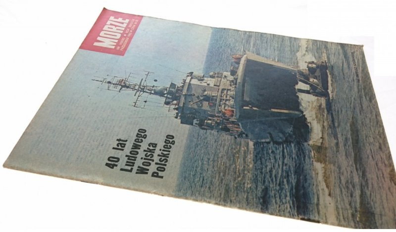MORZE NR 10 (632) PAŹDZIERNIK 1983