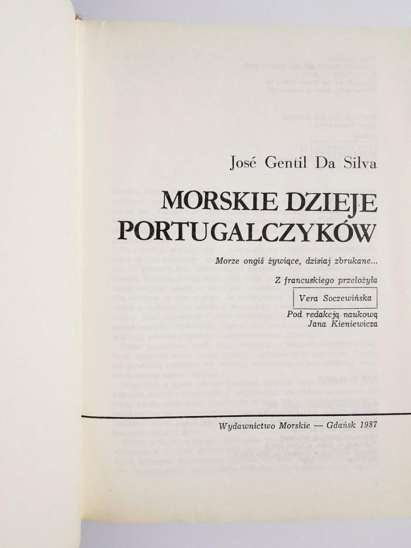 MORSKIE DZIEJE PORTUGALCZYKÓW - Jose Gentil Da Silva 1987