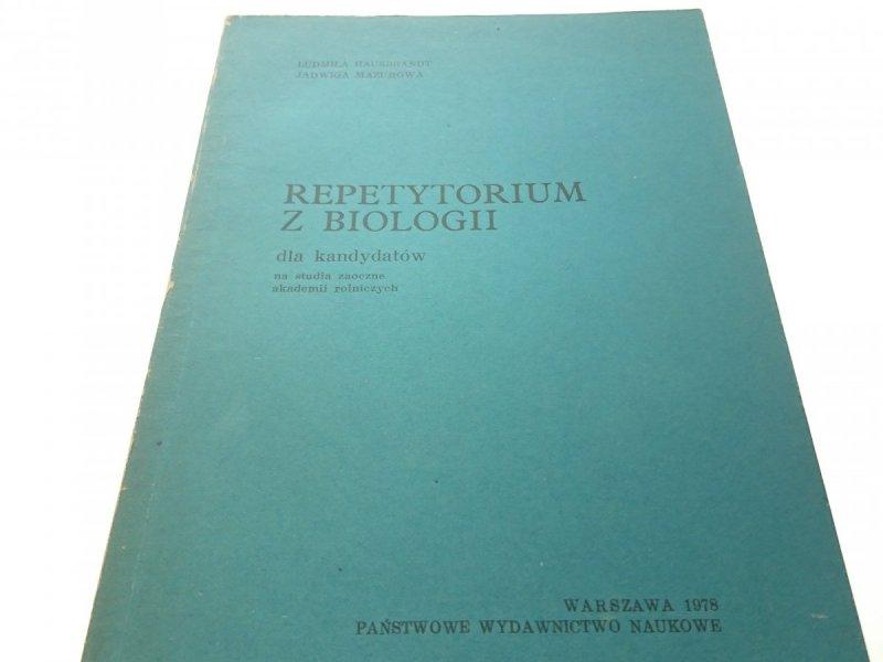 REPETYTORIUM Z BIOLOGII - HAUSBRANDT