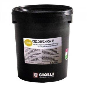 DECOTECH CA01 LUCIDO (POŁYSK) - 0,75L + katalizator 0,03kg (transparentna, dwuskładnikowa żywica poliuretanowa)