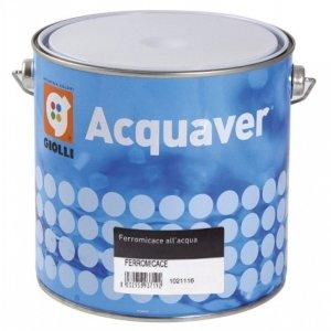 ACQUAVER FERROMICACE - 2,5L (emalia akrylowa do metalu, na bazie wody, pozwalająca uzyskać matowy efekt kutego żelaza