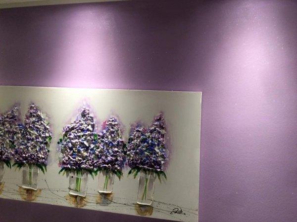 ANTICO RIFLESSO CRISTALLO - 2,5L  (dekoracyjna farba metalizowana - z mieniącymi się kryształkami i piaskiem kwarcowym - 121 kolorów)