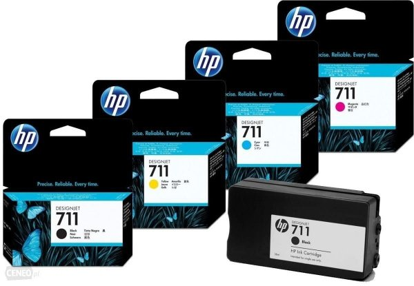 TUSZ ZAMIENNIK HP 711 DESIGNJET T120 BLACK [80ml] [XL]