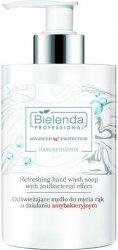 Bielenda Handspiration Odświeżające mydło do mycia rąk o właściwościach antybakteryjnych 290g