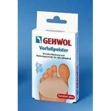 Gehwol - Żelowa poduszka przeciwuciskowa do przedstopia ( duża ) - 2 szt. 10 26 933
