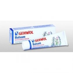 Gehwol Balsam - Balsam odświeżający do stóp dla suchej skóry - 75ml