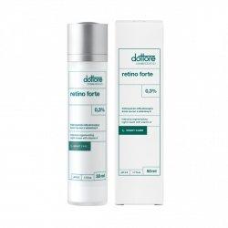 Dottore Cosmeceutici Retino Forte - Intensywnie odbudowujący krem na noc z 0,3% witaminą A 0,3% 50ml