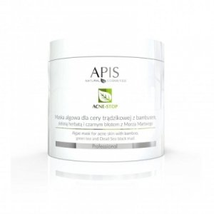 Apis Acne-stop, Maska algowa, 250 g