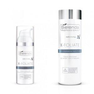 Bielenda X-Foliate Zestaw dla skóry naczynkowej