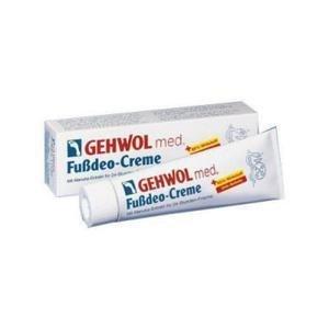 Gehwol med Fussdeo-creme - Intensywny krem silnie odświeżający do stóp - 125ml