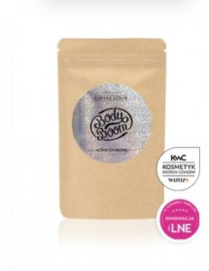 Body Boom Peeling Kawowy Magiczny Węgiel Active Charcoal 30g