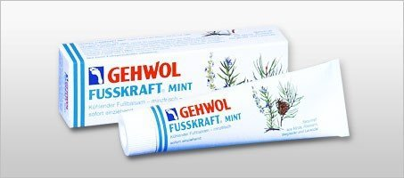 Gehwol - Fusskraft Mint - Balsam chłodzący do stóp - 75 ml