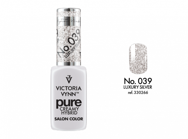 Victoria Vynn Pure Color - No.039 Luxury Silver 8 ml