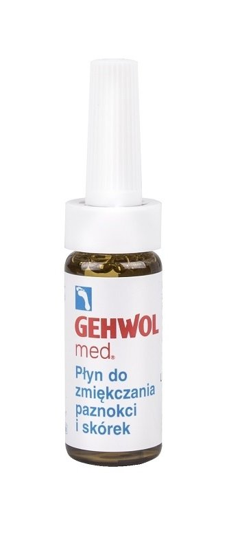 Gehwol med - Płyn zmiękczający paznokcie/skórki - 15 ml