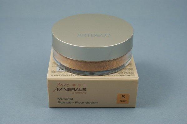 Artdeco- Podkład mineralny - Mineral losose powder nr: 6