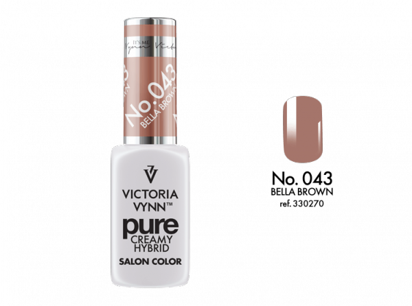 Victoria Vynn Pure Color - No.043 Bella Brown 8 ml