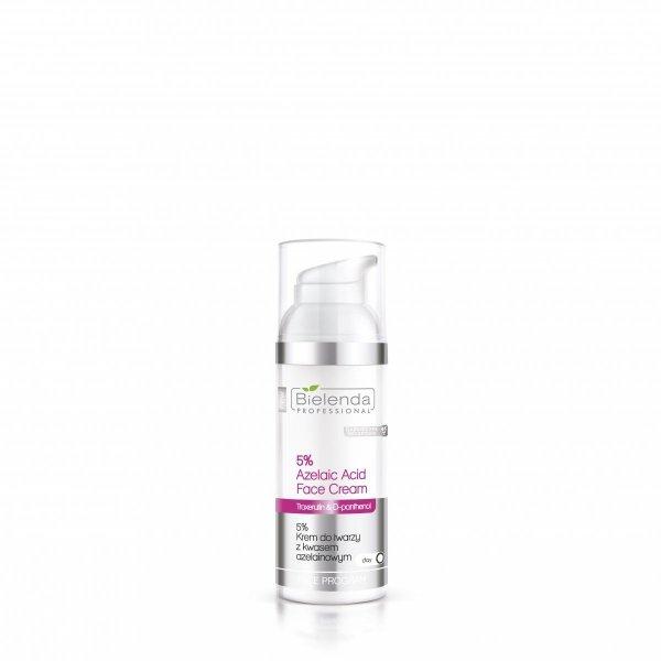 Bielenda - Sensitive Skin - 5% Krem do twarzy z kwasem azelainowym 50ml