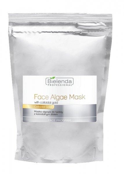 Bielenda Maska algowa do twarzy z koloidalnym złotem 190 g - opakowanie uzupełniające