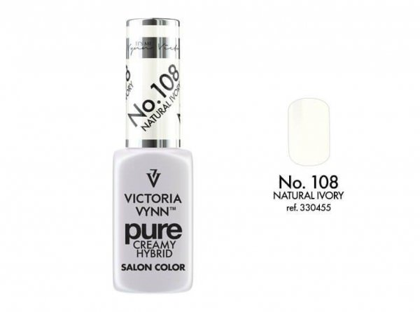 Victoria Vynn Pure Color - No.108 Natural Ivory 8 ml