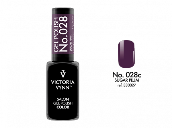 Victoria Vynn Gel Polish Color - Sugar Plum No.028 8 ml