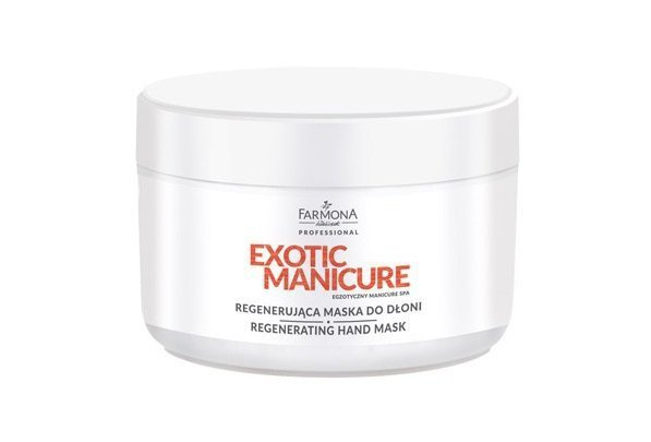 Farmona Exotic Manicure - Regenerująca maska do dłoni - 300 ml