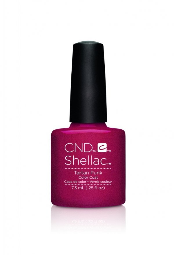 CND Shellac Tartan Punk - 7,3 ml
