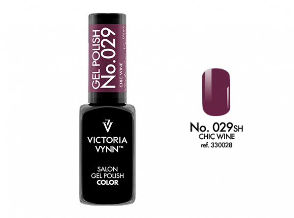 Victoria Vynn Gel Polish Color - Chic Wine No.029 8 ml