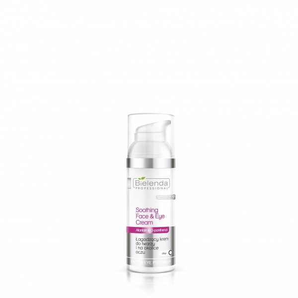 Bielenda - Sensitive Skin - Łagodzący krem do twarzy i na okolice oczu 50ml
