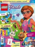 LEGO Friends magazyn 4/2018 + dwa króliczki ze zjeżdżalnią i huśtawką