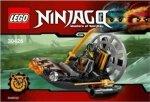 MiniMini+ magazyn Wydanie specjalne + Lego Ninjago 30426 Bagienny poduszkowiec