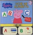 Świnka Peppa Uczę się alfabetu 26 puzzli z literami