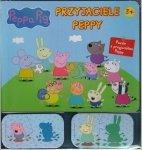 Świnka Peppa Przyjaciele Peppy 16 puzzli ze zwierzątkami